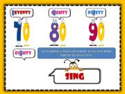 English powerpoint: Numbers 1-100 Game