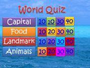 English powerpoint: World Quiz