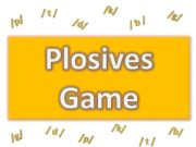 English powerpoint: Plosives Game Clue (part 1/ 2)