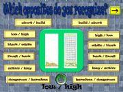 English powerpoint: OPPOSITES 2 part 2