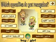 English powerpoint: WHICH OPPOSITES DO YOU RECOGNIZE ? PART 2/3
