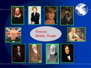 English powerpoint: Famous British People