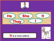 English powerpoint: Game Personal pronouns (animals and people)