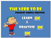 English powerpoint: The verb to be: learn and practise
