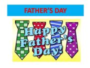 English powerpoint: father´s day