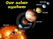 English powerpoint: OUR SOLAR SYSTEM