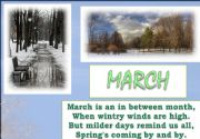 English powerpoint: rhymes and seasons 2/4