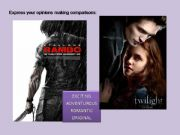 English powerpoint: Making comparisons