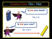 English powerpoint: DEMONSTRATIVE PRONOUNS: THIS, THESE, THAT, THOSE