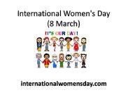 English powerpoint: International women´s day