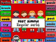 English powerpoint: Past Simple - regular verbs *GAME* (1)