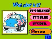 English powerpoint: WHAT COLOUR IS IT?