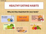 English powerpoint: Healthy Eating Habits