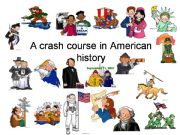 English powerpoint: A crash course in American history - Part 1