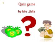 English powerpoint: quiz game  with sounds