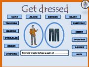 English powerpoint: Game_shopping for clothes (2/7)