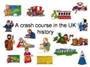 English powerpoint: A crash course in the uk history - Part 1