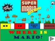 English powerpoint: PREPOSITIONS OF PLACE WITH SUPERMARIO (WITH SOUND)