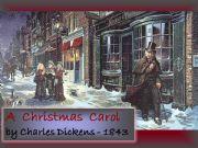 English powerpoint: A CHRISTMAS CAROL