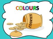 English powerpoint: Who stole the cookies from the cookie jar- COLOURS- with sound