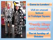 English powerpoint: London festivals: Pearly kings and queens