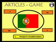 English powerpoint: Definite, indefinite and zero articles - game 2 (4)