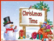 English powerpoint: Christmas Time - a memory game