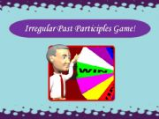 English powerpoint: Irregular Past Participles Game