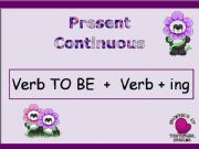 English powerpoint: Introducing Present Continuous