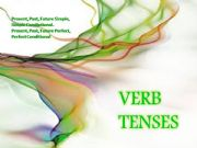 English powerpoint: VERB TENSES