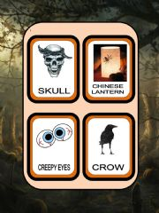 English powerpoint: Halloween flash cards part 2