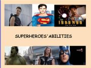 English powerpoint: Practicing abilities (can/can´t) - Superheroes