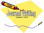 English powerpoint: Journal Writing Workshop