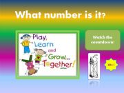 English powerpoint: Numbers 1-99 / Game