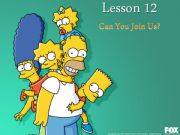 English powerpoint: PART 1 of 3: We are going (shopping). Can you join us? Simpsons