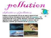 English powerpoint: pollution