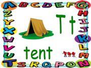 English powerpoint: Alphabet game - PART 8