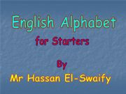 English powerpoint: Alphabet [A-H]