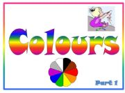 English powerpoint: Colours Part 1