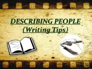 English powerpoint: Describing People Part I