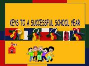 English powerpoint: Keys to a Successful School Year