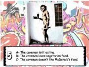 English powerpoint: Banksy: simple present vs continuous present (part3)
