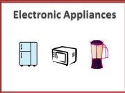 English powerpoint: Appliances