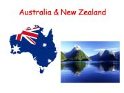 English powerpoint: Australia and New Zealand