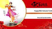 English powerpoint: Happy Moon Festival