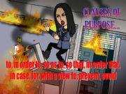 English powerpoint: CLAUSES OF PURPOSE
