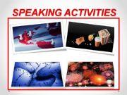 English powerpoint: Speaking activities