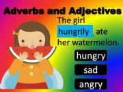 English powerpoint: Adverbs and Adjectives