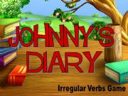 English powerpoint: Johnny´s Diary ( irregular verbs game)