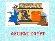 English powerpoint: Ancient Egypt ( for a CLIL project)